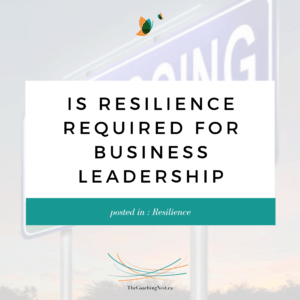 IS RESILIENCE REQUIRED FOR BUSINESS LEADERSHIP via Shelley Cox, CEO & Founder of TheCoachingNest.ca (2)